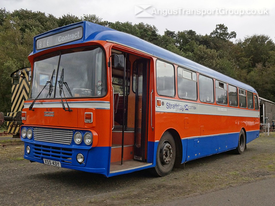 Angus Transport Group | Vehicles | 1982 Leyland Leopard XSS43Y